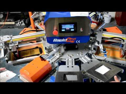 Silkscreen 4 Color Napkin printing - ASPE's RapidTag