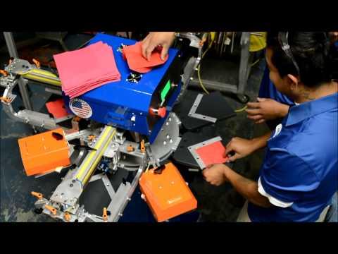 Napkin Printing Machine: RapidTag LP3 - ASPE's RapidTag