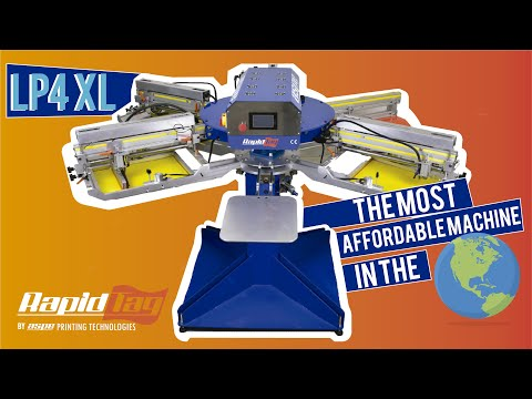 LP4XL: Most Affordable Automatic Screen Printing Machine