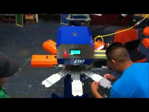 Can Cooler Printing with Puff Ink!!! - ASPE's RapidTag
