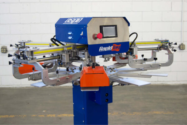 LP4 RapidTag Screen Printing Machine from ASPE