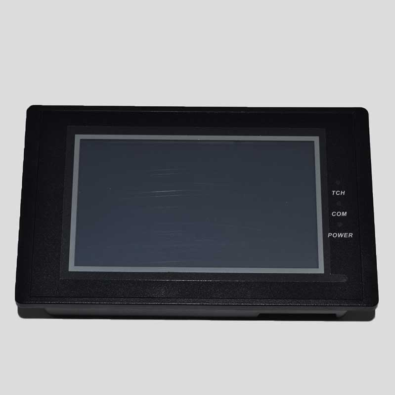 ASPE Screen Printing Machine TouchScreen Front View